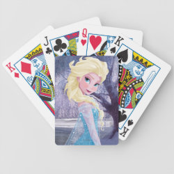 Playing Cards with Frozen's Princess Elsa the Snow Queen design