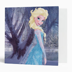 Avery Signature 1' Binder with Frozen's Princess Elsa the Snow Queen design