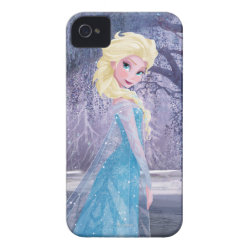 Case-Mate iPhone 4 Barely There Universal Case with Frozen's Princess Elsa the Snow Queen design