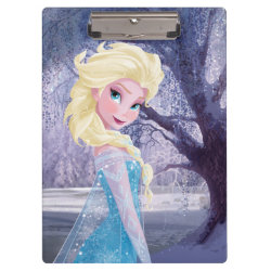Clipboard with Frozen's Princess Elsa the Snow Queen design