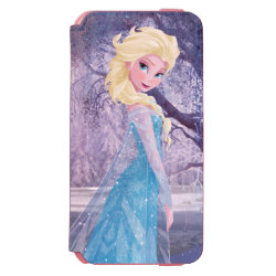 Incipio Watson™ iPhone 6 Wallet Case with Frozen's Princess Elsa the Snow Queen design
