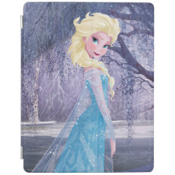 iPad 2/3/4 Cover with Frozen's Princess Elsa the Snow Queen design