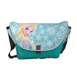 Rickshaw Medium Zero Messenger Bag with Frozen's Princess Elsa the Snow Queen design
