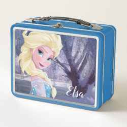 Metal Lunch Box with Frozen's Princess Elsa the Snow Queen design