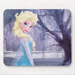 Mousepad with Frozen's Princess Elsa the Snow Queen design