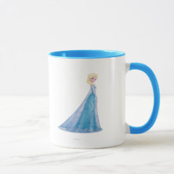 Combo Mug with Frozen's Princess Elsa the Snow Queen design