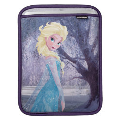 iPad Sleeve with Frozen's Princess Elsa the Snow Queen design