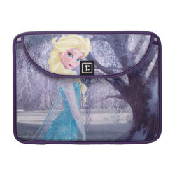 Macbook Pro 13' Flap Sleeve with Frozen's Princess Elsa the Snow Queen design