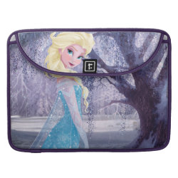 Macbook Pro 15' Flap Sleeve with Frozen's Princess Elsa the Snow Queen design