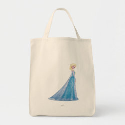 Grocery Tote with Frozen's Princess Elsa the Snow Queen design