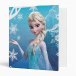 Elsa | Snow Queen 3 Ring Binder
