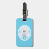 Elsa | Snowflakes Bag Tag