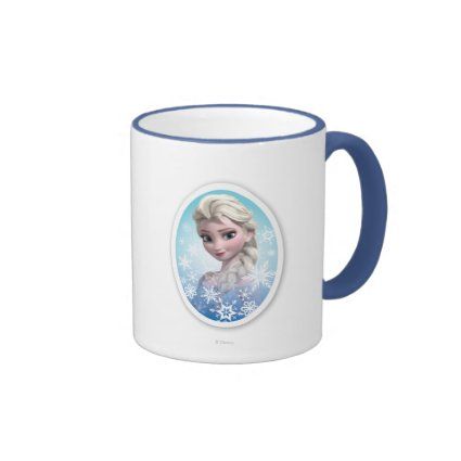 Elsa Snowlake Frame Mugs