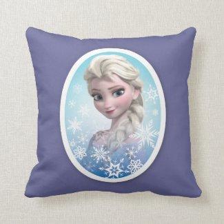 Elsa Snowlake Frame Pillows