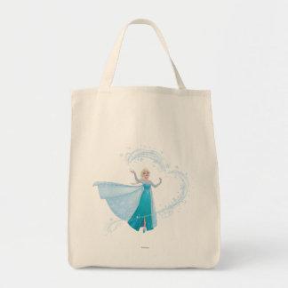 Elsa - Sparkling, Elegant Ice Grocery Tote Bag