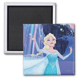 Elsa - Sparkling, Elegant Ice Fridge Magnet