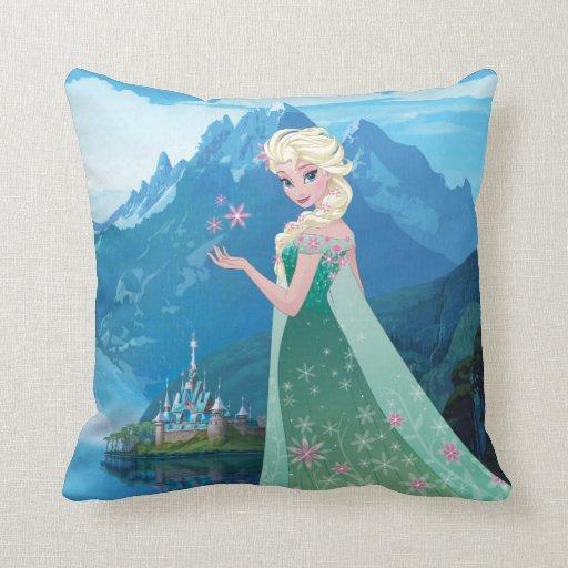 Elsa | Summer Wish Throw Pillow