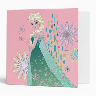 Elsa | Summer Wish with Flowers 3 Ring Binder