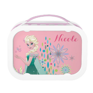 Elsa | Summer Wish With Flowers Lunch Box at Zazzle