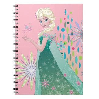 Elsa | Summer Wish with Flowers Spiral Notebook