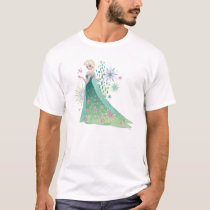Elsa | Summer Wish with Flowers T-Shirt