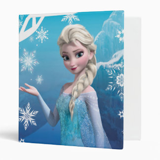 Elsa the Snow Queen 3 Ring Binder