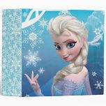 Elsa the Snow Queen Binder