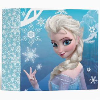 Elsa the Snow Queen Binder