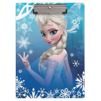 Elsa the Snow Queen Clipboard