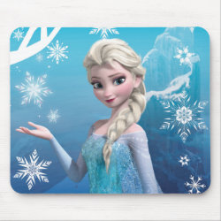Mousepad with Frozen's Princess Elsa of Arendelle design