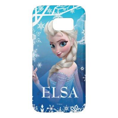 Elsa the Snow Queen Samsung Galaxy S7 Case