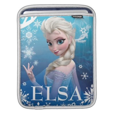 Elsa the Snow Queen Sleeve For iPads