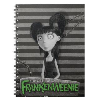 Elsa Van Helsing Spiral Notebook
