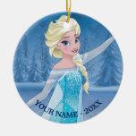 Elsa | Winter Magic Ceramic Ornament