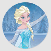 Elsa | Winter Magic Classic Round Sticker