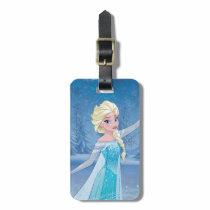 Elsa | Winter Magic Luggage Tag