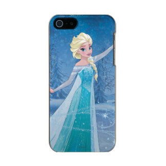 Elsa | Winter Magic Metallic Phone Case For iPhone SE/5/5s