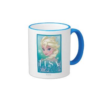 Elsa - Winter Magic Ringer Coffee Mug