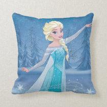 Elsa | Winter Magic Throw Pillow