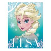 Elsa | Winter Portrait Postcard