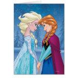 Elsa y Ana - junto para siempre Felicitaciones