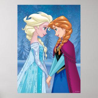 Elsa y Ana - junto para siempre Póster