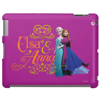 Elsa y Ana que se colocan de nuevo a la parte post