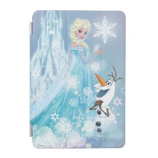 Elsa y Olaf - resplandor helado Cubierta De iPad Mini