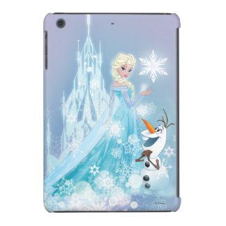 Elsa y Olaf - resplandor helado Funda De iPad Mini
