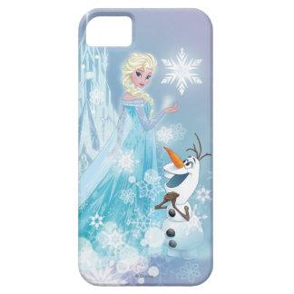 Elsa y Olaf - resplandor helado iPhone 5 Funda