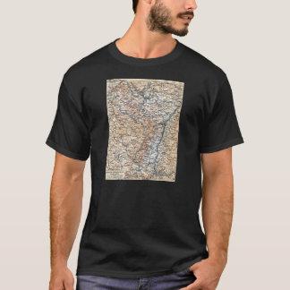 Elsass Lothringen Map T-Shirt
