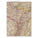 ElsassLothringen, Bayerische Pfalz Atlas Map Card