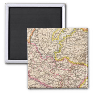 ElsassLothringen, Bayerische Pfalz Atlas Map Magnet