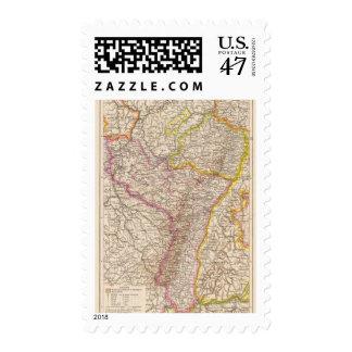ElsassLothringen, Bayerische Pfalz Atlas Map Postage
